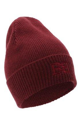 Женский шапка из шерсти и кашемира BALLY бордового цвета, арт. L8LR054K-8J460/597 | Фото 1