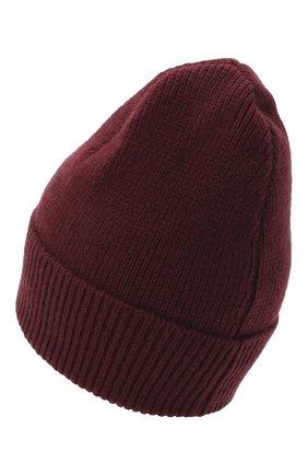 Женский шапка из шерсти и кашемира BALLY бордового цвета, арт. L8LR054K-8J460/597 | Фото 2