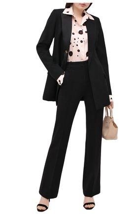 Женские брюки DOROTHEE SCHUMACHER черного цвета, арт. 948013/EM0TI0NAL ESSENCE | Фото 2