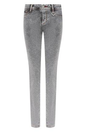 Женские джинсы PHILIPP PLEIN серого цвета, арт. F20C WDT1423 PDE004N | Фото 1