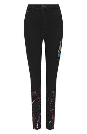 Женские джинсы PHILIPP PLEIN черного цвета, арт. F20C WDT1412 PDE004N | Фото 1