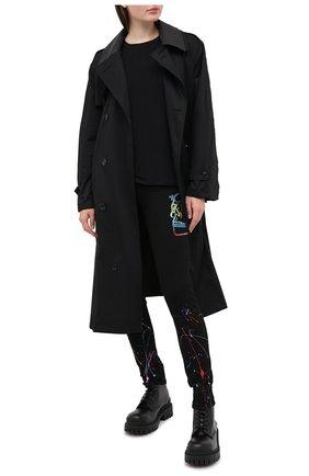 Женские джинсы PHILIPP PLEIN черного цвета, арт. F20C WDT1412 PDE004N | Фото 2