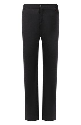Мужской брюки из шерсти и кашемира ZILLI темно-серого цвета, арт. M0U-D0153-LACH1/R001 | Фото 1