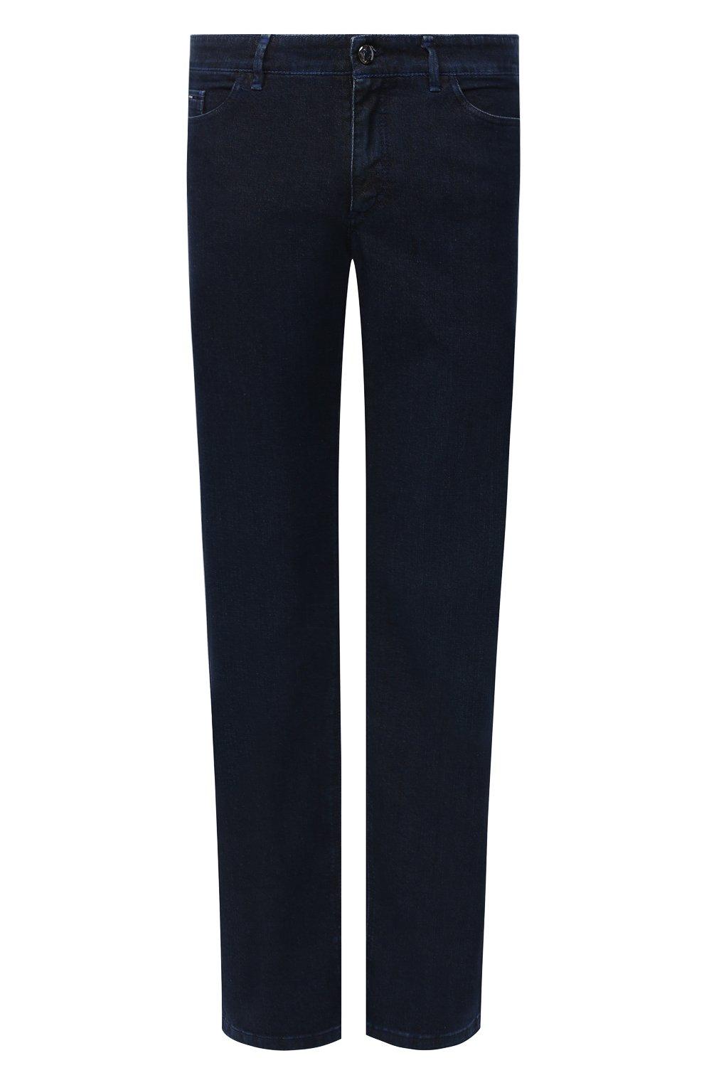 Мужские джинсы ZILLI синего цвета, арт. MCU-00011-LKBL1/R001   Фото 1