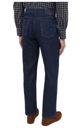 Мужские джинсы ZILLI синего цвета, арт. MCU-00011-LKBL1/R001   Фото 5