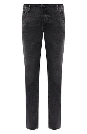 Мужские джинсы DIESEL темно-серого цвета, арт. A00088/009FZ | Фото 1