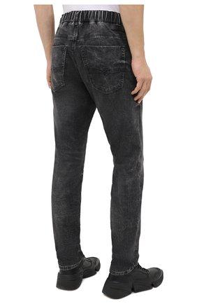 Мужские джинсы DIESEL темно-серого цвета, арт. A00088/009FZ   Фото 4