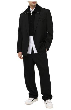 Мужской жилет из шерсти и хлопка DIESEL черного цвета, арт. A01479/0PAYZ | Фото 2