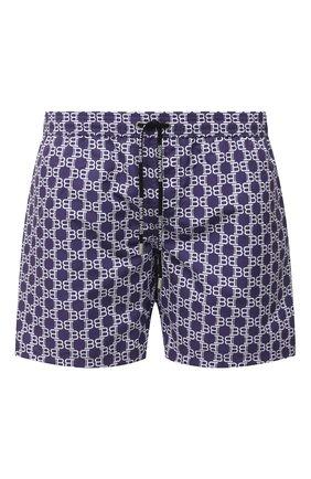 Детского плавки-шорты BALMAIN фиолетового цвета, арт. BWB640060 | Фото 1