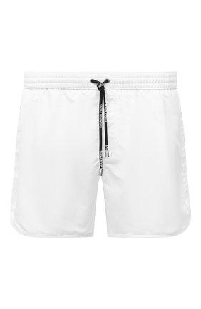 Детского плавки-шорты BALMAIN белого цвета, арт. BWB640100 | Фото 1