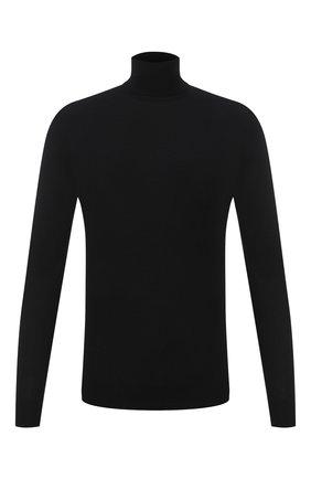 Мужской кашемировая водолазка RALPH LAUREN черного цвета, арт. 790509397 | Фото 1