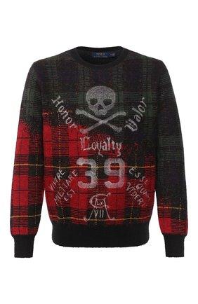 Мужской свитер POLO RALPH LAUREN темно-бежевого цвета, арт. 710757994 | Фото 1