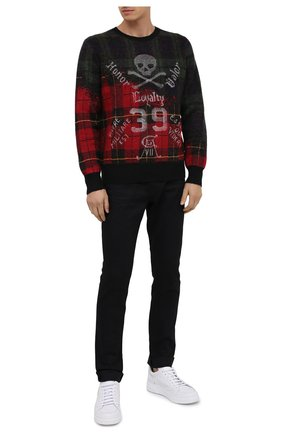 Мужской свитер POLO RALPH LAUREN темно-бежевого цвета, арт. 710757994 | Фото 2