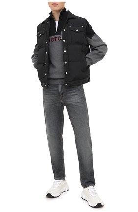 Мужские джинсы ISABEL MARANT серого цвета, арт. PA0867-20A018H/JACK | Фото 2