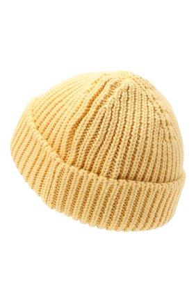 Мужская шерстяная шапка OFF-WHITE желтого цвета, арт. 0MLC001F20KNI0011800 | Фото 2