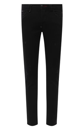 Мужские джинсы PHILIPP PLEIN черного цвета, арт. F20C MDT2237 PDE004N | Фото 1