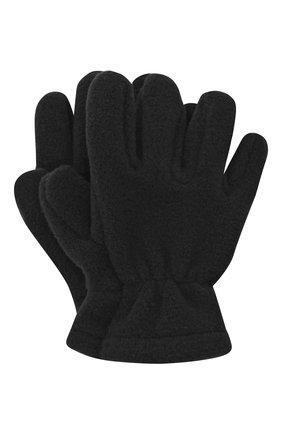 Детские перчатки CATYA черного цвета, арт. 024527 | Фото 1