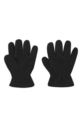 Детские перчатки CATYA черного цвета, арт. 024527 | Фото 2