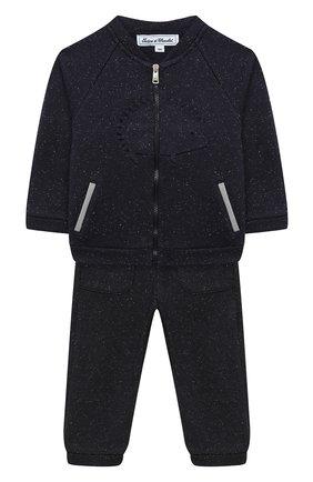 Детский комплект из толстовки и брюк TARTINE ET CHOCOLAT темно-синего цвета, арт. TR35001/18M-3A | Фото 1