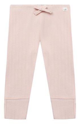 Детские брюки SANETTA светло-розового цвета, арт. 10107 | Фото 1