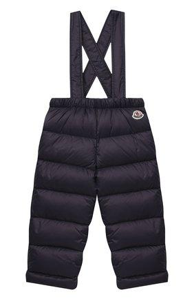 Детского комплект из куртки и брюк MONCLER темно-синего цвета, арт. F2-951-1F504-02-53079 | Фото 4