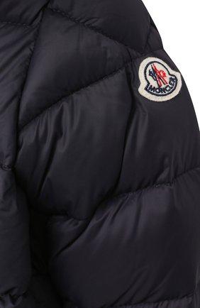 Детского комплект из куртки и брюк MONCLER темно-синего цвета, арт. F2-951-1F504-02-53079 | Фото 6