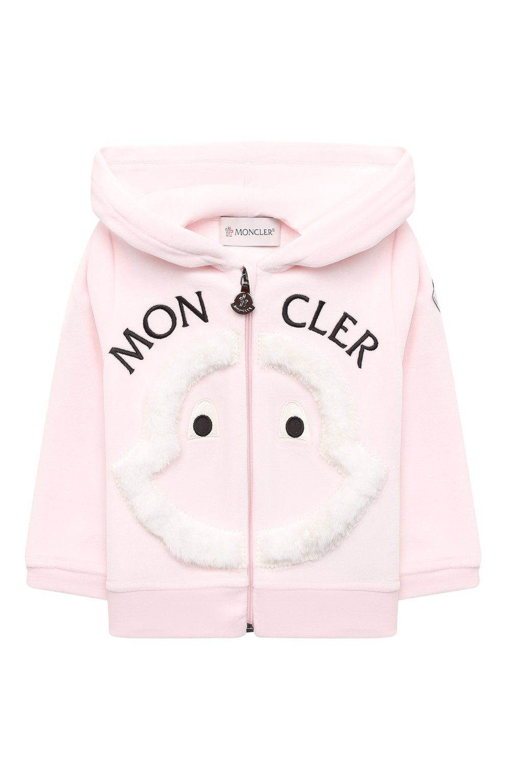 Детский комплект из толстовки и брюк MONCLER светло-розового цвета, арт. F2-951-8M732-10-8999Y | Фото 2