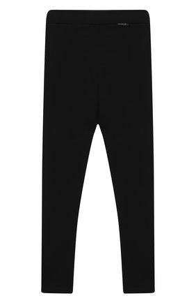 Детские брюки MONCLER черного цвета, арт. F2-954-8H732-10-829F4/12-14A | Фото 2