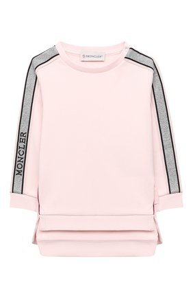 Детский комплект из свитшота и брюк MONCLER светло-розового цвета, арт. F2-951-8M726-10-809EH | Фото 2