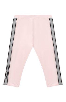 Детский комплект из свитшота и брюк MONCLER светло-розового цвета, арт. F2-951-8M726-10-809EH | Фото 5