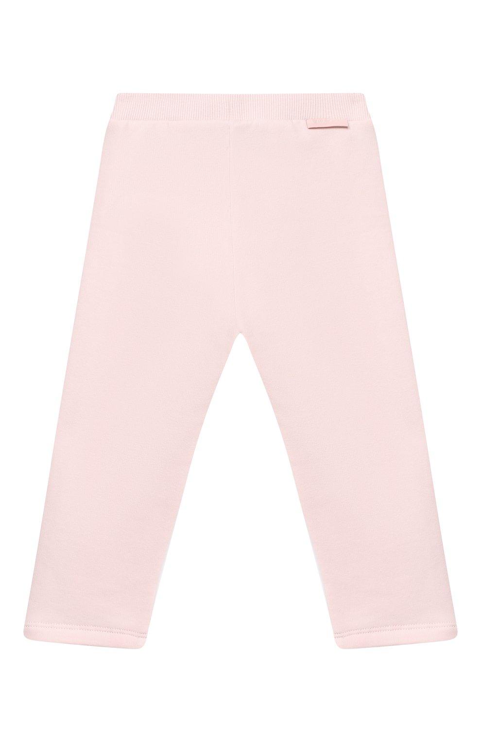 Детский комплект из свитшота и брюк MONCLER светло-розового цвета, арт. F2-951-8M726-10-809EH | Фото 6