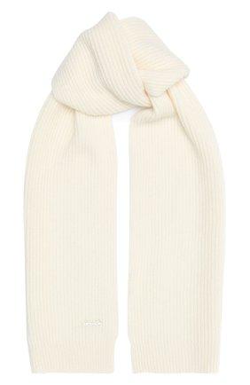 Детский кашемировый шарф SIMONETTA бежевого цвета, арт. 1N0046/NE340 | Фото 1