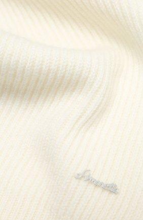 Детский кашемировый шарф SIMONETTA бежевого цвета, арт. 1N0046/NE340 | Фото 2
