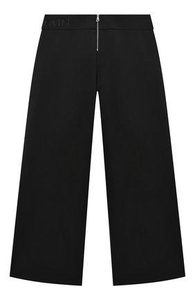 Детские шерстяные брюки BALMAIN черного цвета, арт. 6N6070/NB840/4-10 | Фото 2