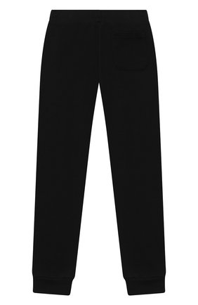 Детские хлопковые джоггеры BALMAIN черного цвета, арт. 6N6637/NX300/4-10 | Фото 2