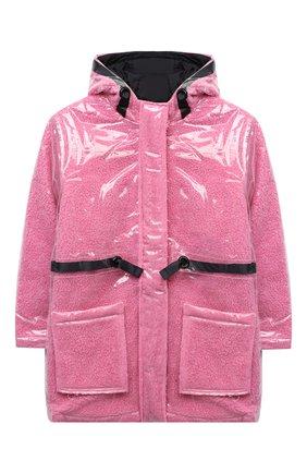 Детский дождевик MARC JACOBS (THE) розового цвета, арт. W16124 | Фото 1