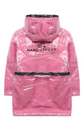 Детский дождевик MARC JACOBS (THE) розового цвета, арт. W16124 | Фото 2