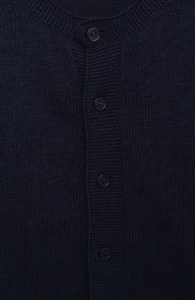 Детский кардиган SANETTA FIFTYSEVEN синего цвета, арт. 901880. | Фото 3