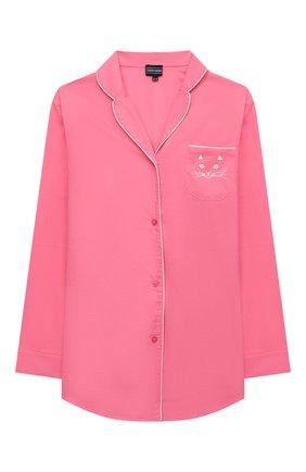Детская хлопковая пижама NATAYAKIM розового цвета, арт. NY-025BWK | Фото 2