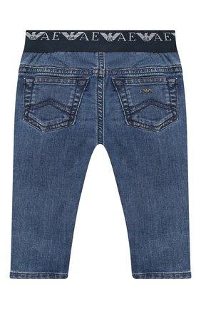 Детские джинсы EMPORIO ARMANI синего цвета, арт. 6HHJ07/4D29Z | Фото 2