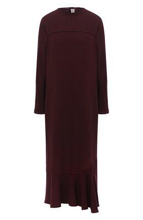 Женское платье MARNI бордового цвета, арт. ABMA0526HY/TV285 | Фото 1