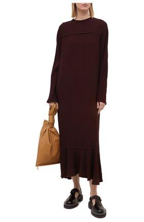 Женское платье MARNI бордового цвета, арт. ABMA0526HY/TV285 | Фото 2