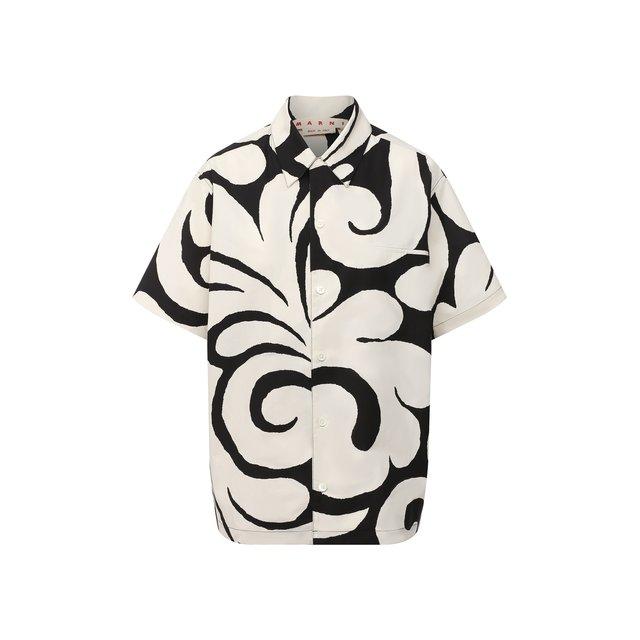 Хлопковая рубашка Marni