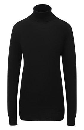 Женская шерстяная водолазка MARNI черного цвета, арт. DVMD0094Q0/FW576   Фото 1