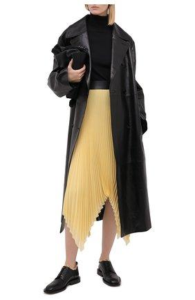 Женская шерстяная водолазка MARNI черного цвета, арт. DVMD0094Q0/FW576   Фото 2