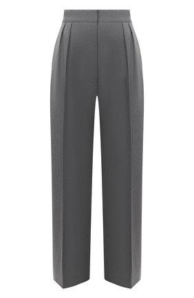 Женские шерстяные брюки MARNI серого цвета, арт. PAMA0192U0/TW839 | Фото 1