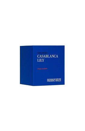 Мужского парфюмерная свеча casablanca lily FREDERIC MALLE бесцветного цвета, арт. 3700135094154 | Фото 2