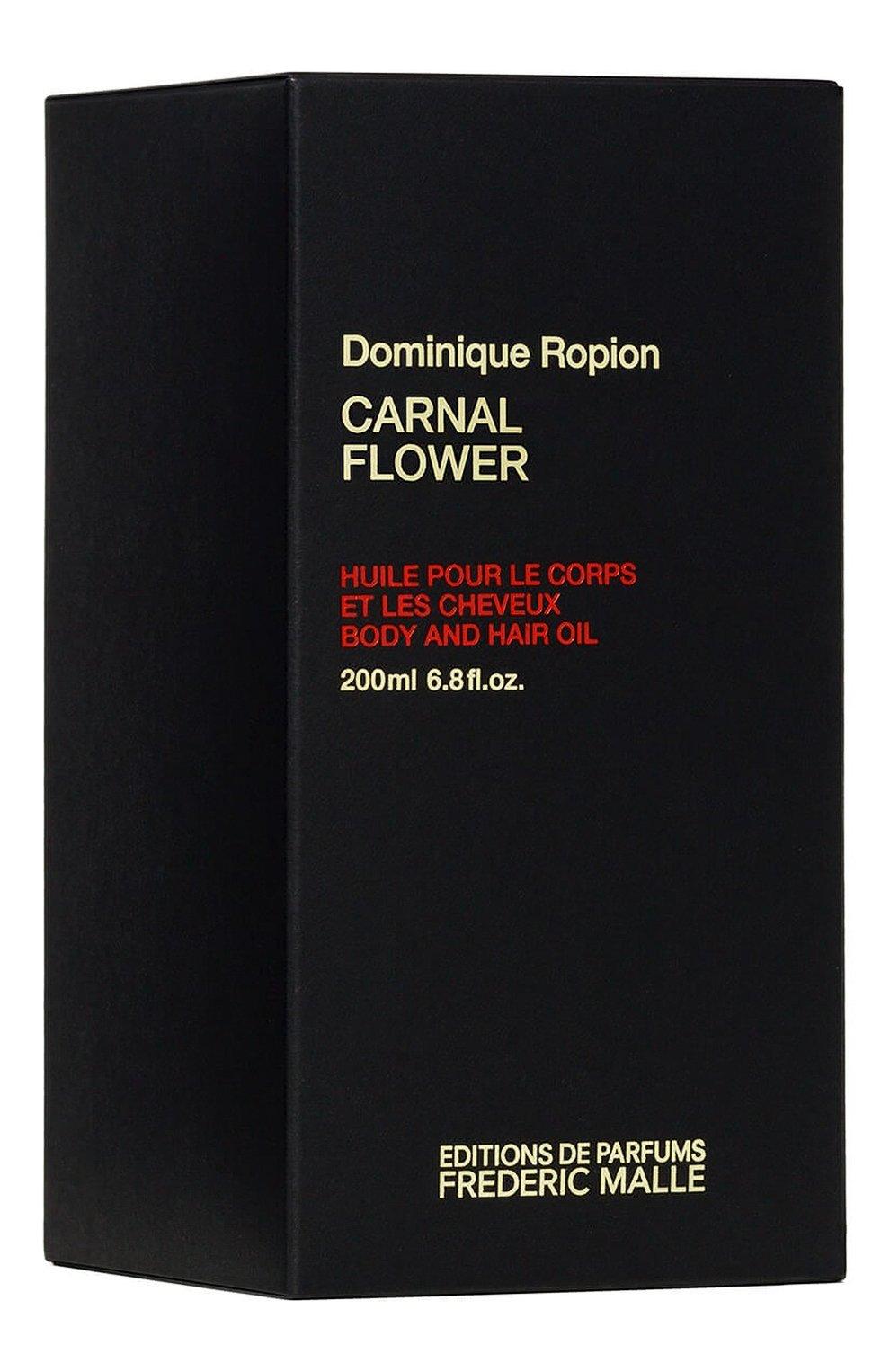 Женского масло для волос и тела carnal flower FREDERIC MALLE бесцветного цвета, арт. 3700135015111 | Фото 3