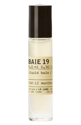 Духи на масляной основе baie 19 LE LABO бесцветного цвета, арт. 842185130185   Фото 1