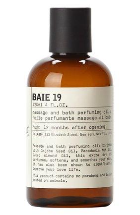 Масло для ванны и тела baie 19 LE LABO бесцветного цвета, арт. 842185130239   Фото 1